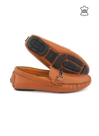 Letoon 2112 Erkek Deri Ayakkabı Kahve